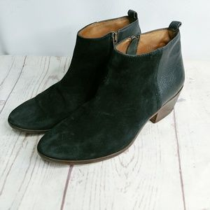 Madewell 9 Booties Black Charley Ankle Boots